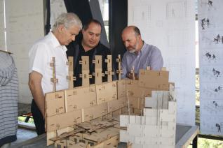 USM presenta modelo de vivienda de emergencia para situaciones extremas