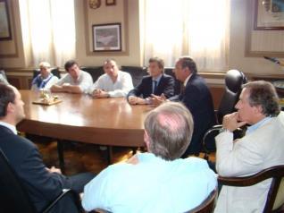 Franetovich visitó Tres Arroyos y Tandil
