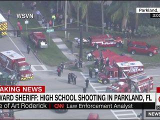 17 muertos en Florida por un tiroteo en una escuela