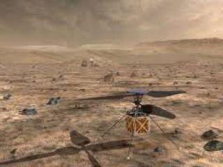 Un helicóptero autónomo a Marte