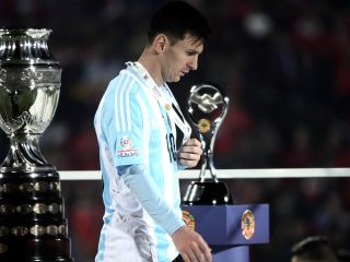 Messi: nunca dije que no iba a ir a la selecci�n