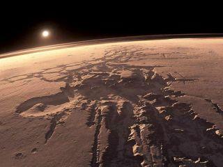 Hay agua l�quida en Marte