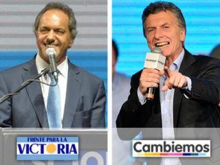 Macri o Scioli: el pa�s elige en un hist�rico balotaje