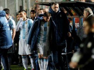 Susto: Messi sufri� un traumatismo en la zona lumbar