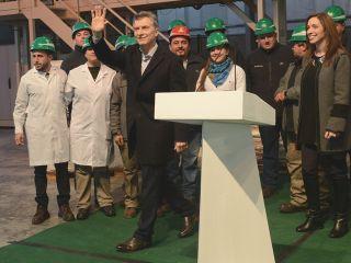Macri en Rizobacter: Las buenas noticias empiezan a llegar