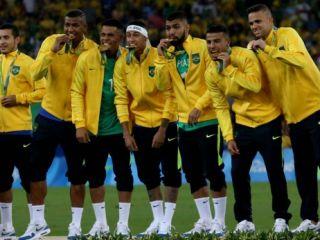 Brasil es de oro en f�tbol