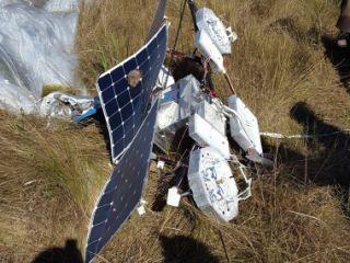 Un globo aerost�tico de Google cay� en Formosa