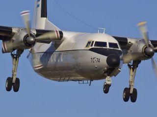 Se despide el �ltimo Fokker 27 de la Fuerza A�rea Argentina