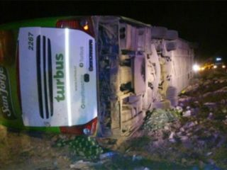 Accidente en Mendoza: 15 muertos y 25 heridos