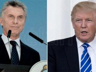 Mauricio Macri y Donald Trump se reunirán este jueves