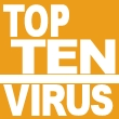 Top Ten de los virus ms detectados en febrero
