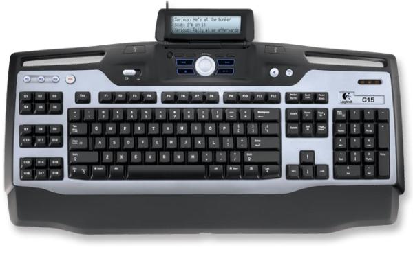 comandos del teclado