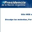 Hacker ataca sitio oficial de la Presidencia de la Nación Argentina