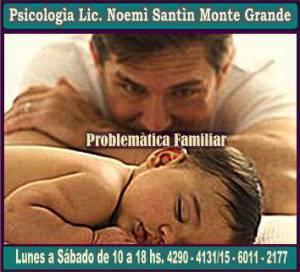 PSICOLOGA PROBLEMATICA FAMILIAR MONTE GRANDE