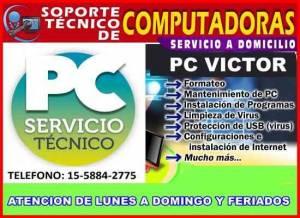 TECNICO DE PC A DOMICILIO EN CAPITAL FEDERAL