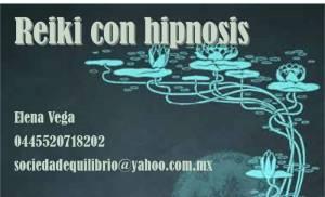 Reiki con Hipnosis, sanación por imposición de man