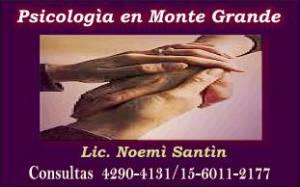 Consultorio Psicologìa en Monte Grande