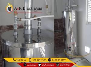 Fabricacion de Calentadores de Acumulacion