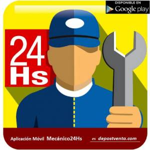 descargá la App. Mecánico24Hs.
