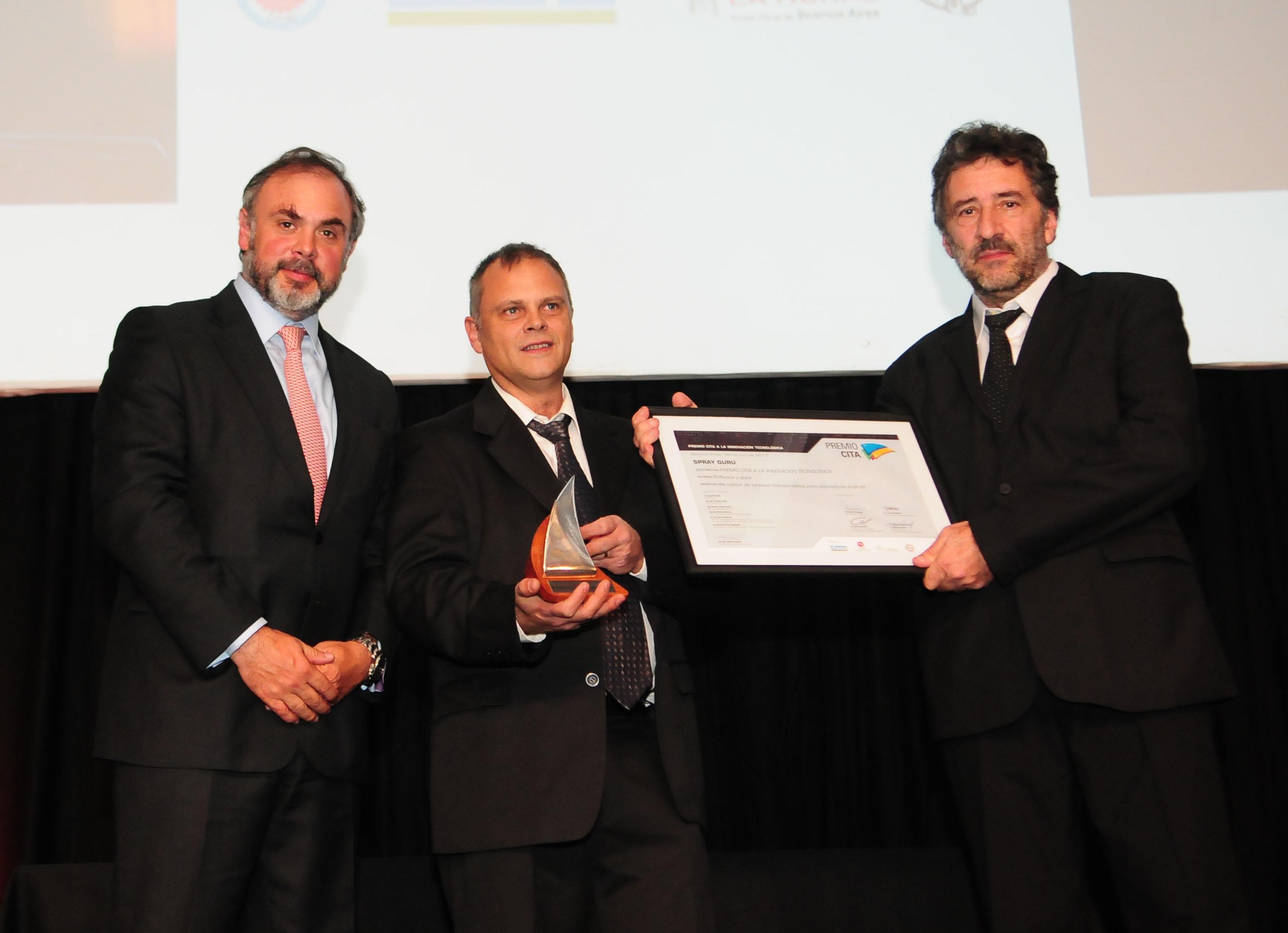 SprayGuru ganó el Premio CiTA