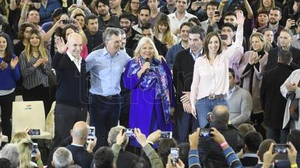 Macri pidió respaldo en las PASO