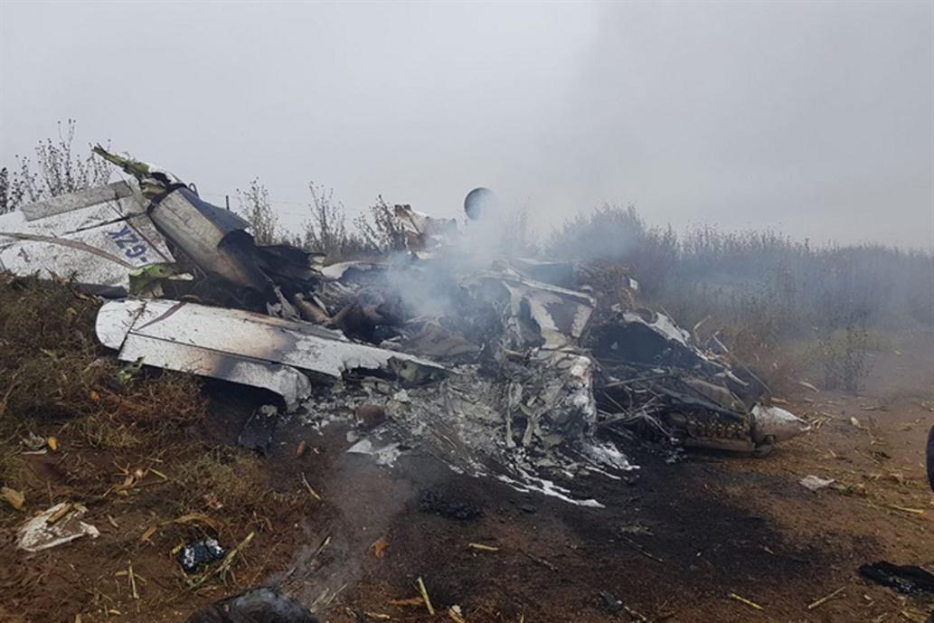 Accidente de avión en La Pampa