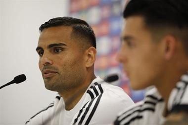 Gabriel Mercado y Cristian Pavón