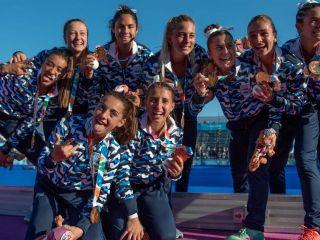 Las Leoncitas conquistaron una medalla dorada