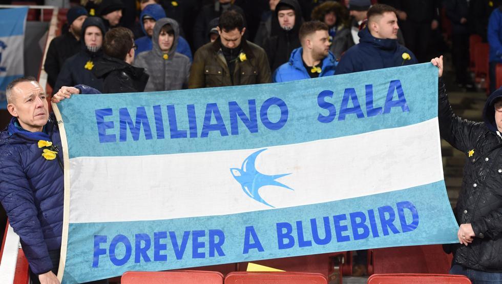 Sentido homenaje a Emiliano Sala