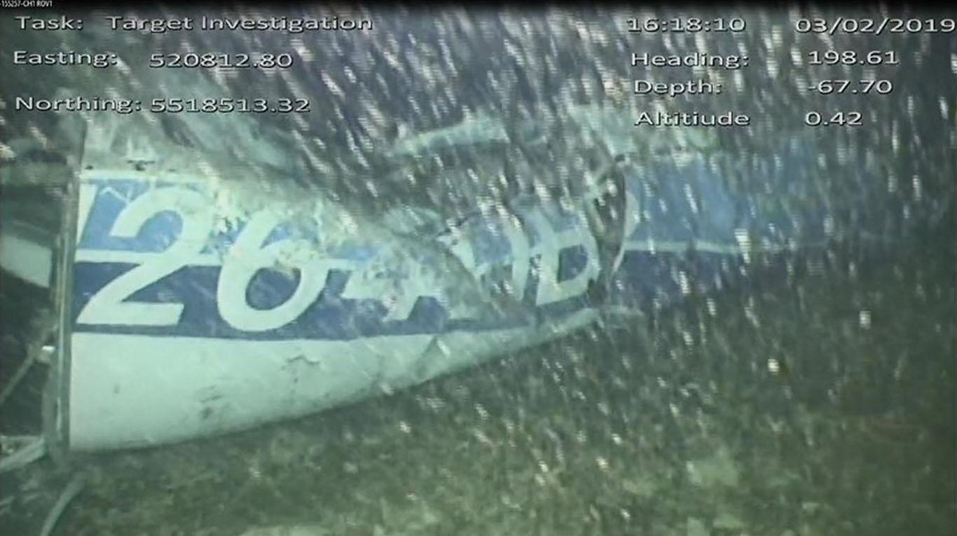 Encontraron el avión en el que viajaba Emiliano Sala