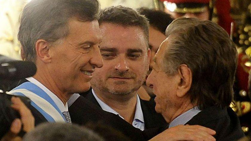 Macri despidió a su padre en Pilar
