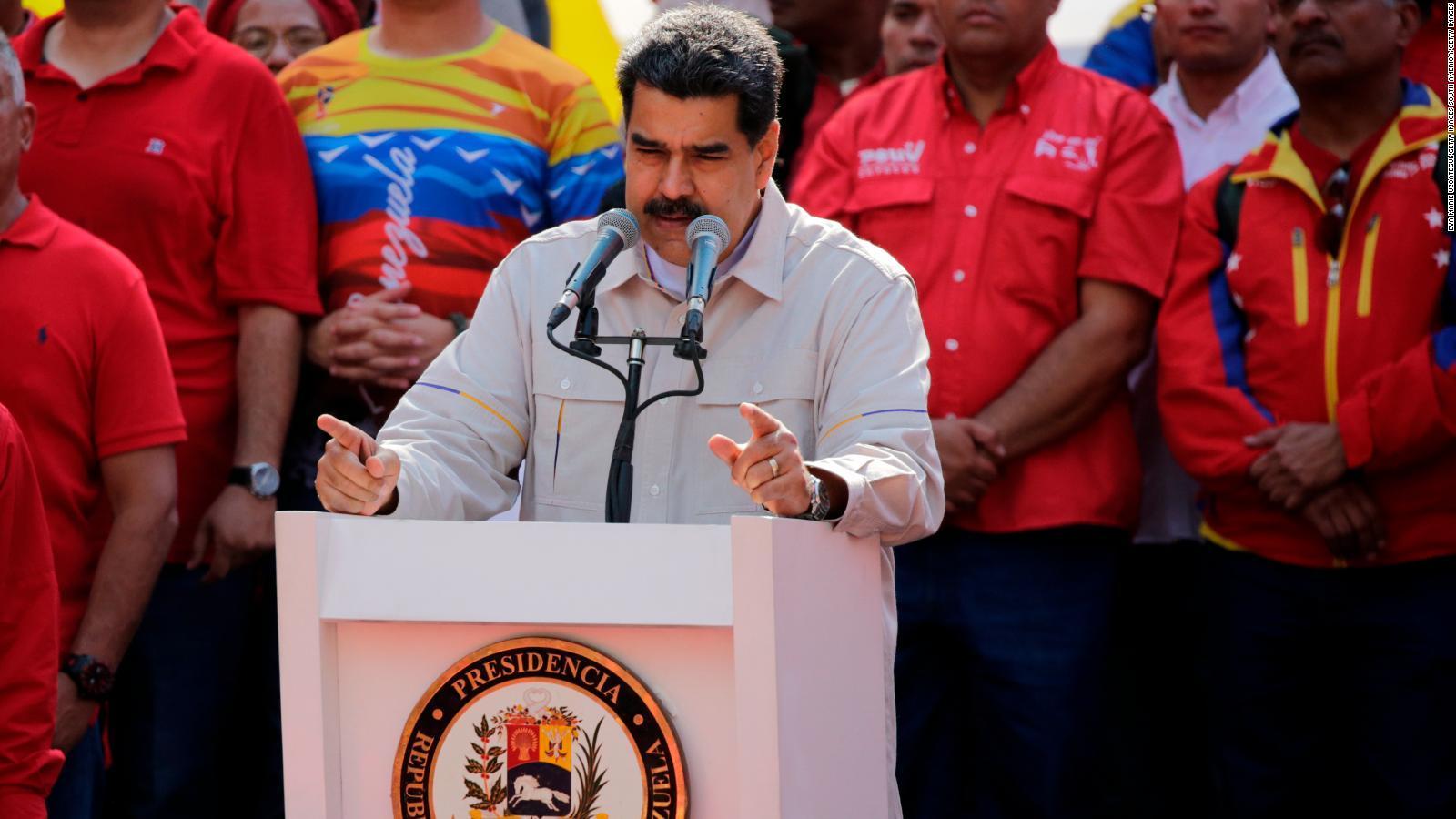 Estados Unidos advierte de una invasión militar a Venezuela
