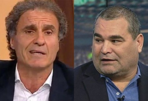 Los conflictos entre Chilavert y Ruggeri continúan