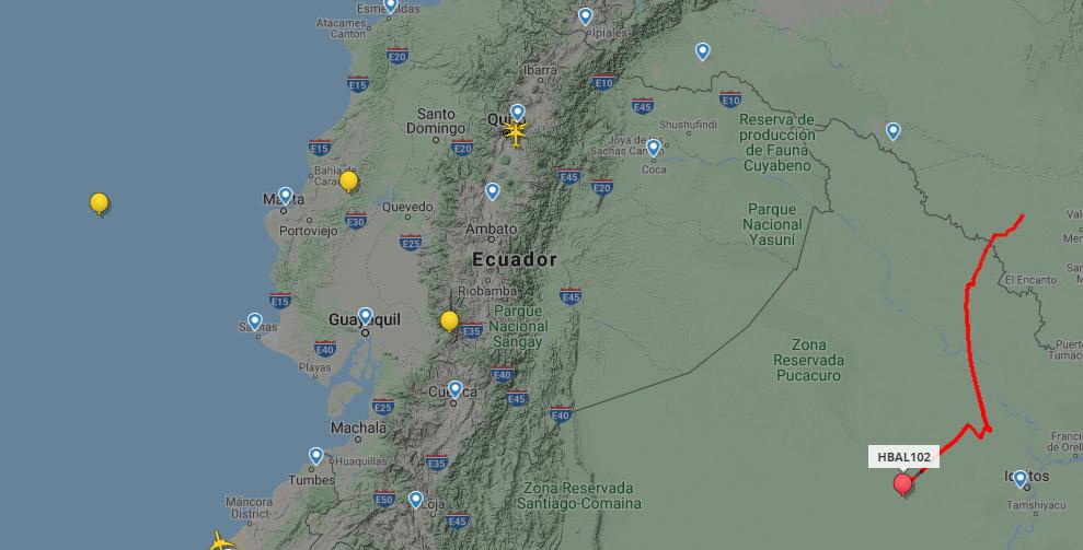 Los globos de Google ahora más visibles en Flightradar24