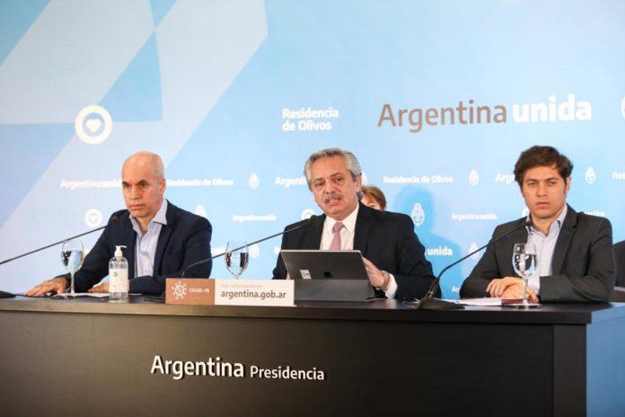 Fernández anuncia la extensión de la cuarentena hasta el 8 de junio
