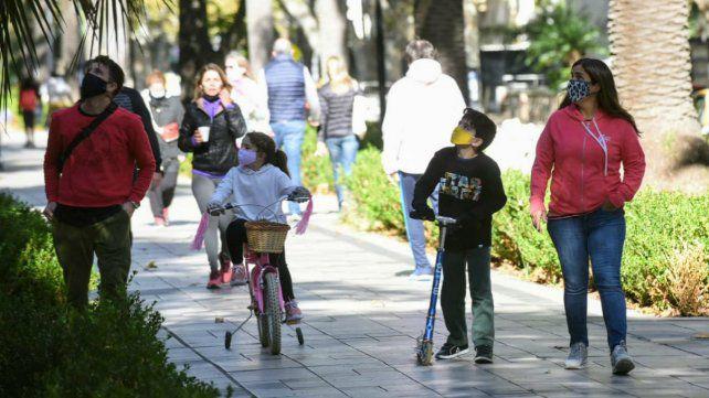 Primer día de paseos recreativos en Rosario