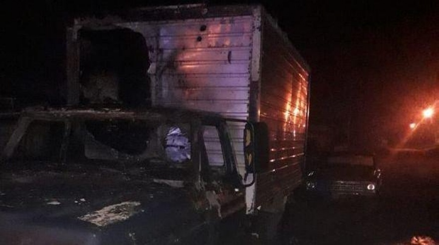 Junín: prendieron fuego la camioneta a un verdulero que contrajo coronavirus