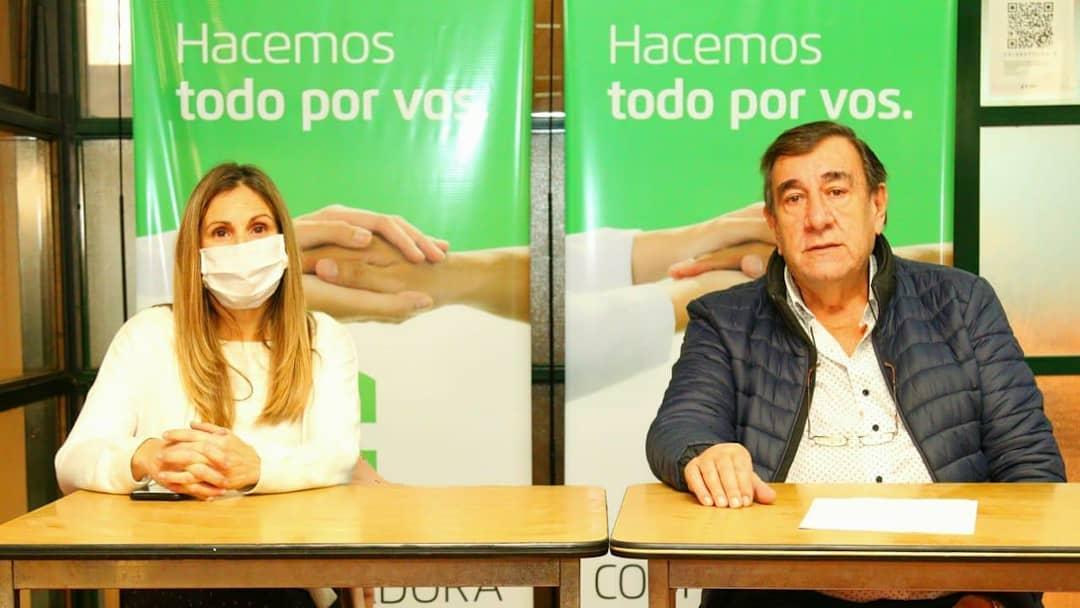 María Martha Perretta y Sebastian Caldentey