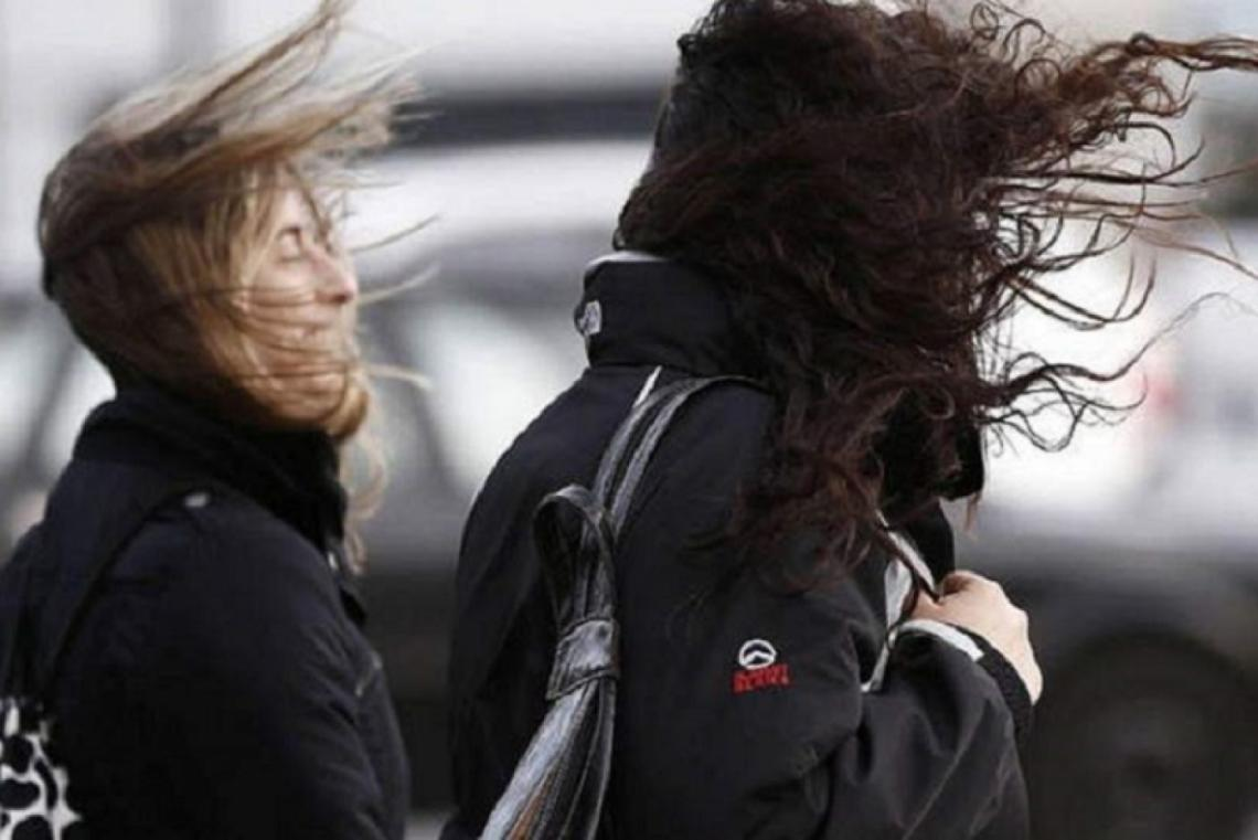 Se esperan en la región ráfagas de viento de entre 60 y 75 km/h