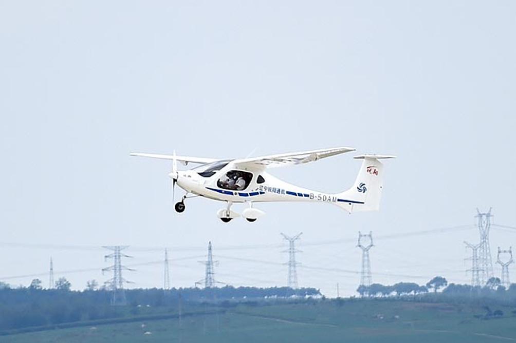 El primer avión eléctrico es Chino