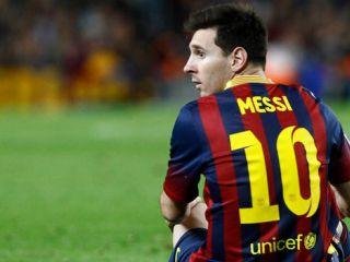 Messi y los chispazos con su DT
