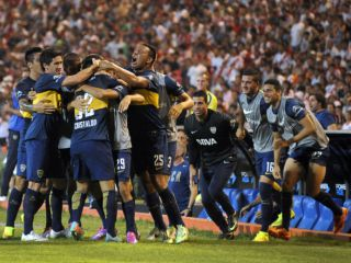 Boca bailó a River 5 a 0