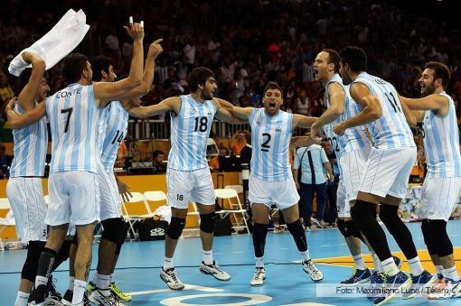 Argentina obtuvo el oro en voley