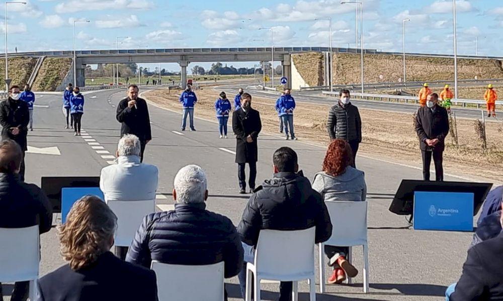 Acto de inauguración Autopista