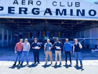 Se recibieron nuevos pilotos e instructores en el Aeroclub Pergamino