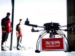 Desde hoy Alibaba ya entrega sus pedidos con drones