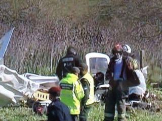 Un instructor de vuelo y su alumno mueren al caer un avión en Berazategui