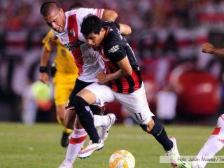 River le ganó a San Lorenzo en el partido de ida