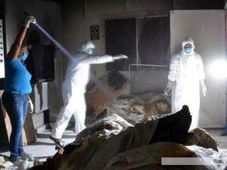 Encuentran 61 cadáveres en un crematorio abandonado