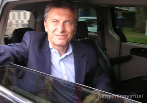 Macri en Pergamino